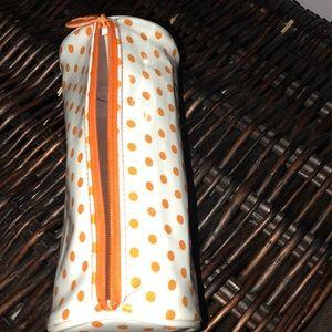 Polkadot pencil case.